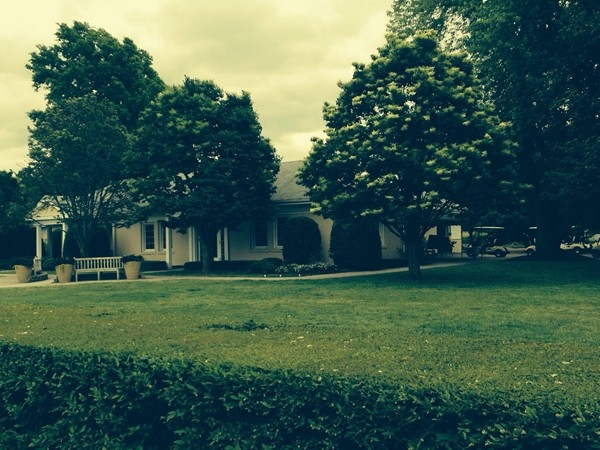 Niagara Falls Country Club - Golf Club House. The first golf swing of my life was here (6th grade)
