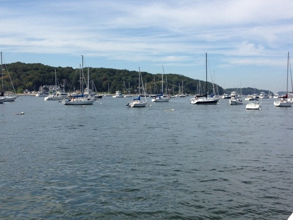 The view from the town dock in Northport -  priceless!!