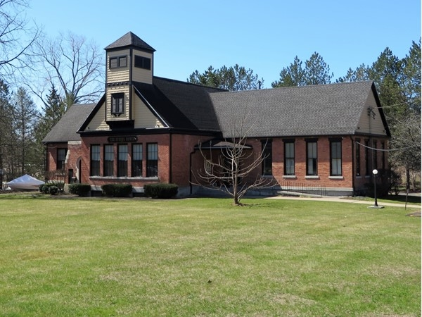 Interesting historic building that is now office space on Baird Road in Perinton