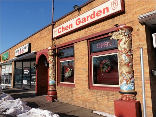 Chen Garden. A local favorite for Chinese take-out