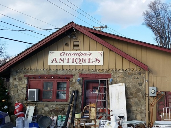 Antique hunting. Try Grandpa's
