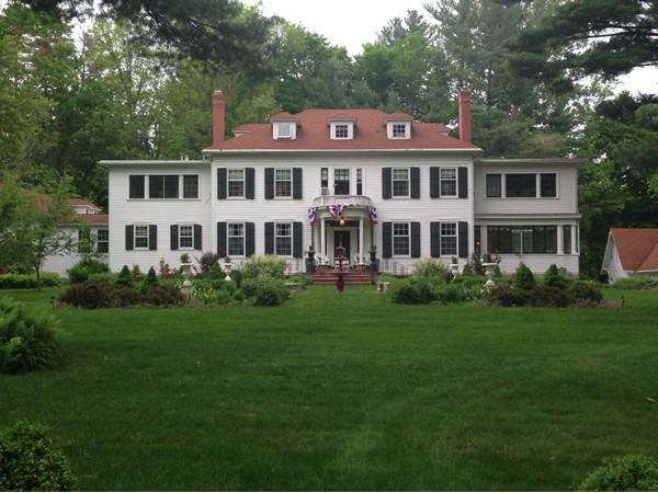Juniper Hill B & B. Historic mansion, designed for William Biggs, a Tburg hardware merchant in 1920