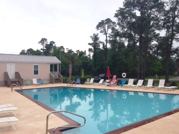 Timber Ridge community pool