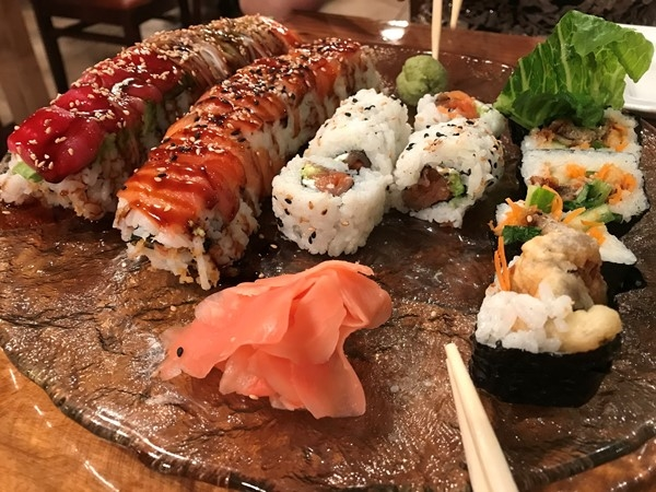 Support local business, they're the backbone of the coast.. On a Roll Sushi in Long Beach