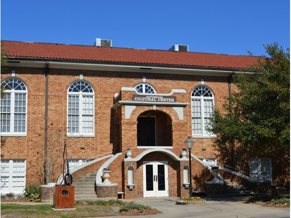 Once the library, the Hattiesburg Cultural Center is home to many community functions