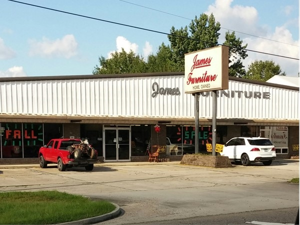 James Furniture is a great place to buy furniture. They offer excellent service
