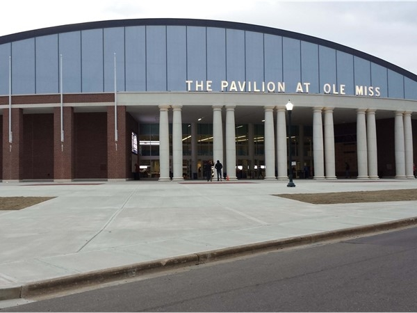 The new Pavilion at Ole Miss will host concerts and Ole Miss sporting events! Great for Oxford
