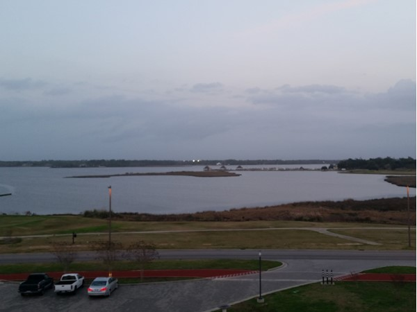 Back bay of Biloxi. Homes in all price ranges are very close to this beautiful view
