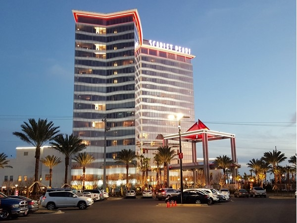Our newest casino! The Scarlet Pearl with mini golf, fine dining, a pool, hotel and gambling