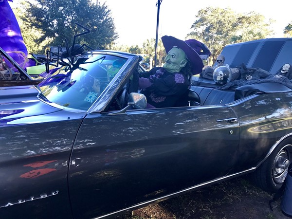 """A blast from the past; trunk or treating in """"The Bay"""""""