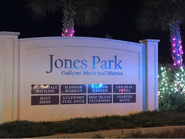 Jones Park in Gulfport