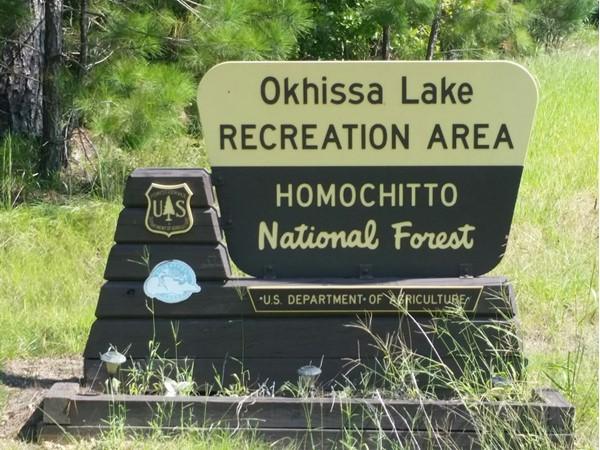 Lake Okhissa is your place to go fishing near Bude