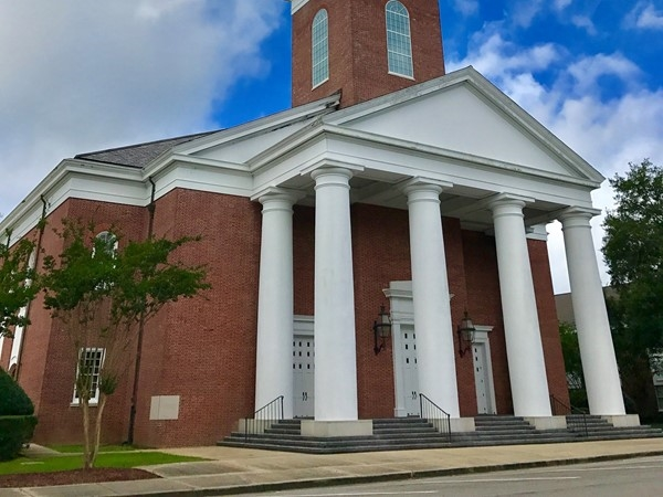 History is plenty in Picayune - First Baptist Church