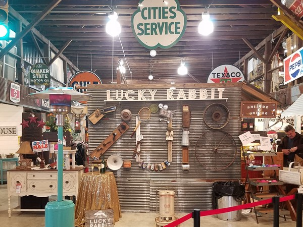 The Lucky Rabbit vintage goods and arts and crafts