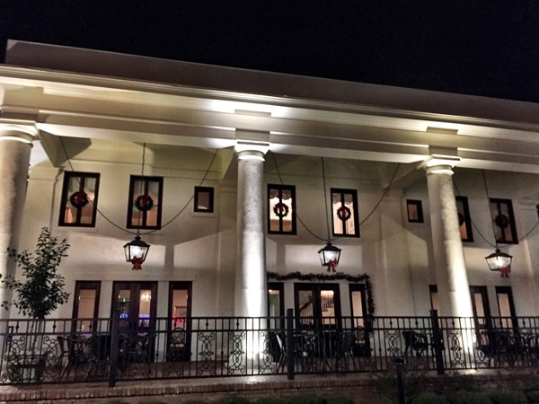 Newly restored & reopened White Pillars Restaurant