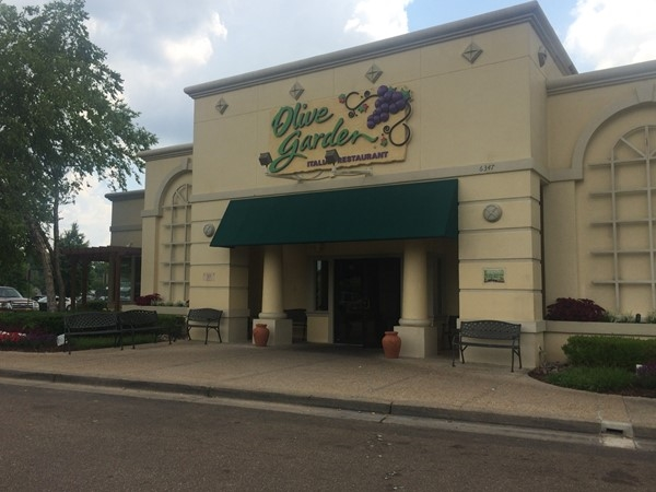 Olive Garden is located in North Jackson off of Interstate 55