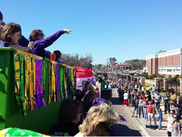 Hattiesburg's Caerus Mardi Gras Parade rolls again Saturday, January 16th at 11:00