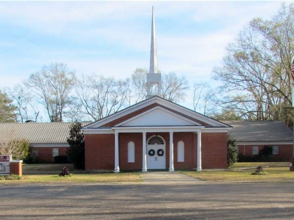 The new Gillsburg Baptist Church