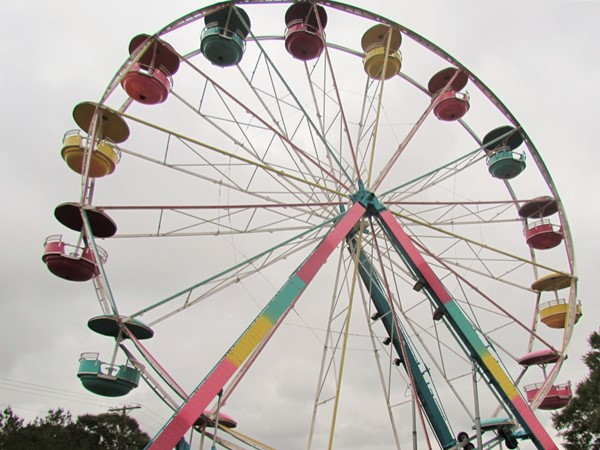 Ferris wheel at the Pike County Fair