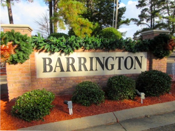 Barrington subdivision real estate homes for sale in for New homes in mississippi
