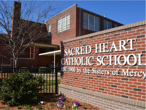 Sacred Heart School, Hattiesburg's oldest school, offers a wonderful education for grades PreK-12.