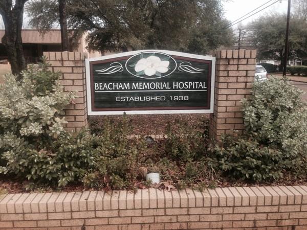 Beacham Memorial Hospital. Small hosital with a big heart