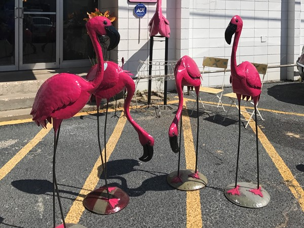 Antiquing at its best at The Vintage Flamingo in Gulfport