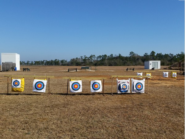 4-H Shooting Sports, archery practice