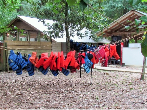 Hang it on the line at Canoe & Trail Outpost