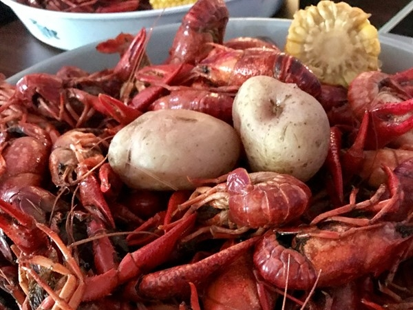 Roger's Sports Bar is home of the best Southern Crawfish