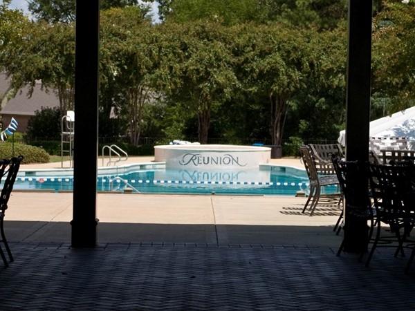 Majestic Reunion swimming pool!