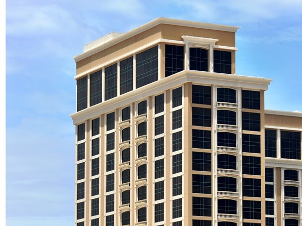 The Beau Rivage is the tallest building in MS