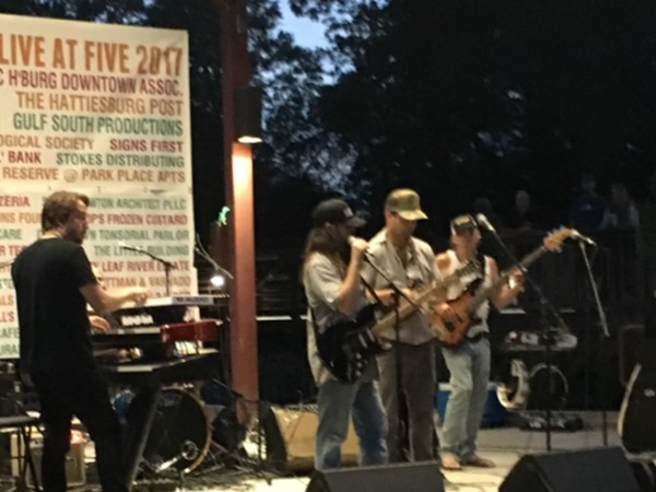 Live at Five is a free, family friendly, concert series hosted in Town Square Park