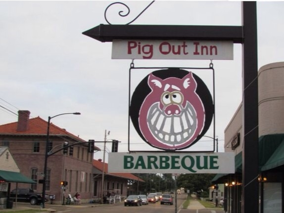 Pig Out Inn. Great place to pig out!