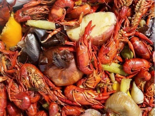 Spicy crawfish, it's what we do! I love crawfish season