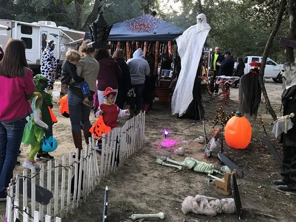 The Annual McLeod Park Halloween event