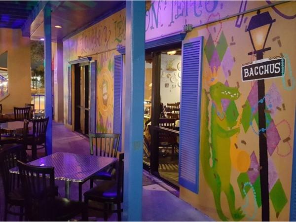 Bacchus in Biloxi. Fine Cajun Cuisine