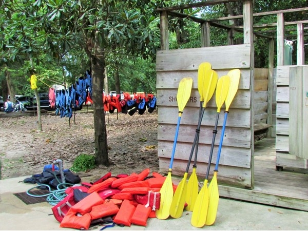 Get your paddle at Canoe & Trail Outpost