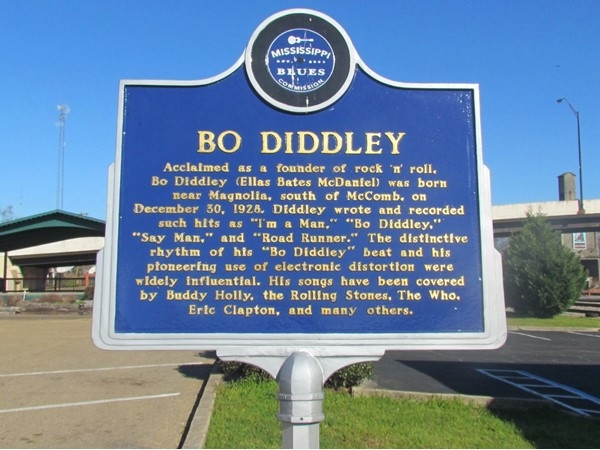 Bo Diddley is a local rock 'n' roll legend