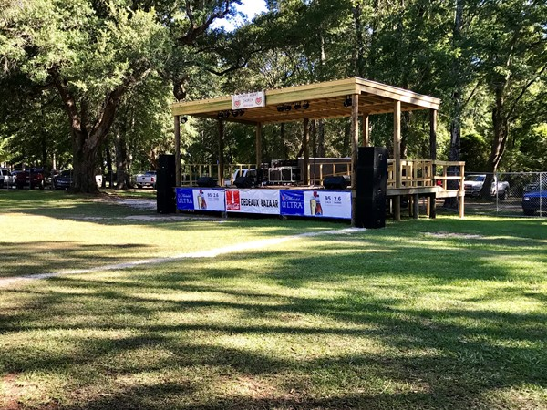 The Dedeaux Bazzar in the Dedeaux Community of Northern Pass Christian - great music coming