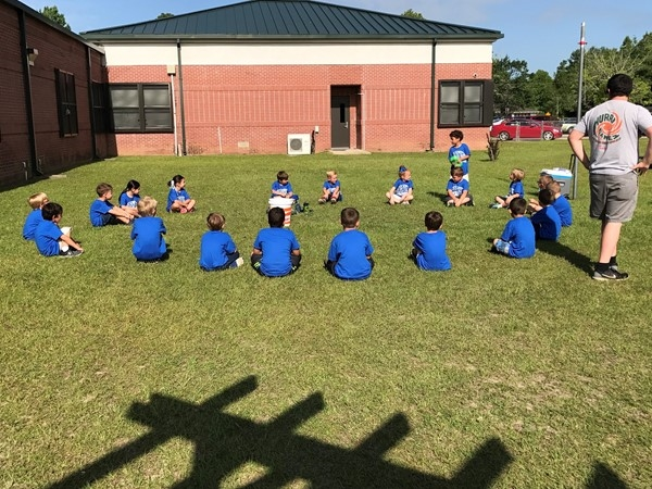 Pineville Elementary Kindergarten Field Day 2017, Pineville Community in Pass Christian