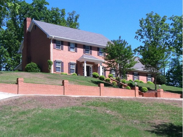 A beautiful hilltop home in the quiet Fox Run neighborhood on the north side of town
