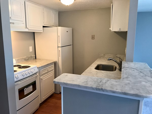 Check out this recently updated kitchen of a one bedroom condo in Molokai Village