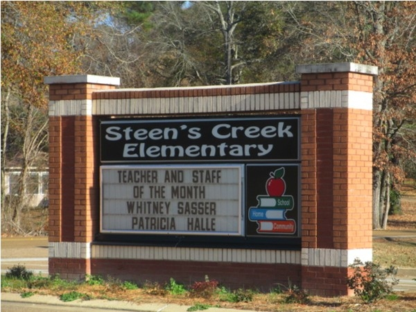 Steen's Creek Elementary in Florence, MS are very proud of their teachers