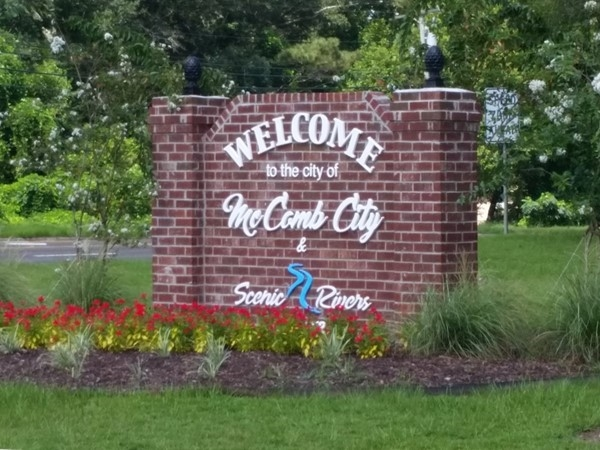 Welcome to the city of McComb