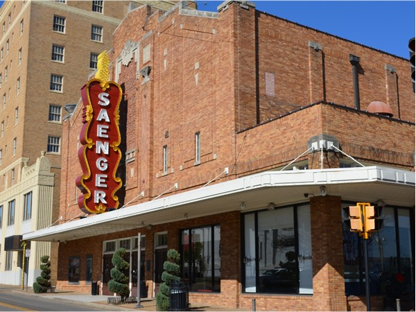 Hattiesburg is proud to be one of five cities in the Southeast to have a Saenger Theater