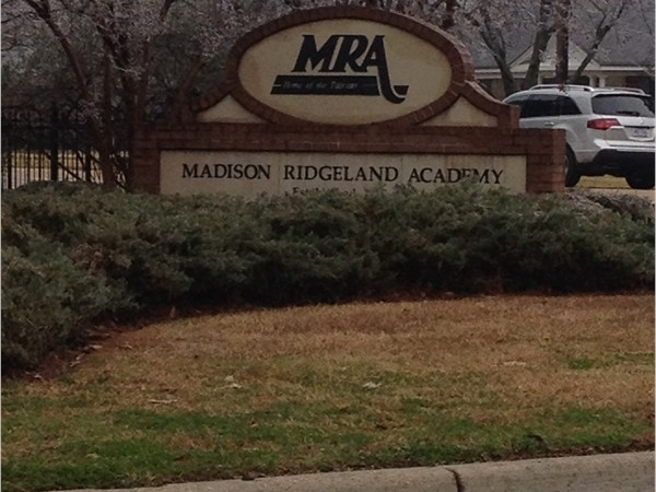 Another school option in the Madison area. MRA is a K3-12th grade academy