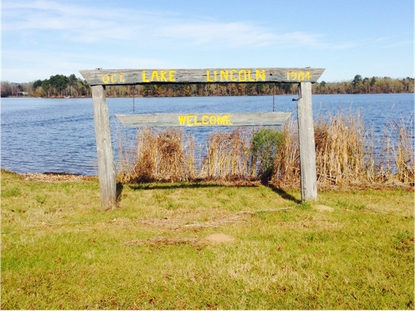 Welcome to Lake Lincoln State Park in Copiah County