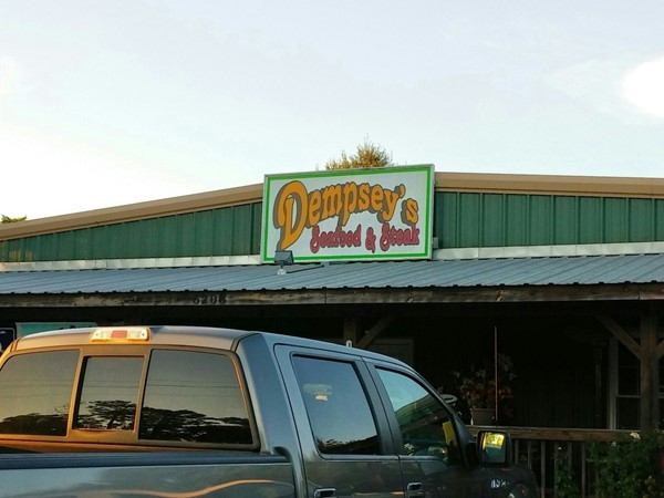 Dempsey's Seafood and Steak has great food