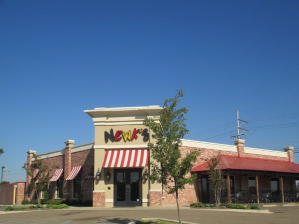 Enjoy inside or outside dining at Newk's